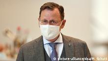 Thüringen I Ministerpräsident I Bodo Ramelow I Maske