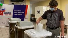 Moskau I Abstimmung über Verfassungsänderungen in Russland