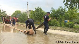 Спасатели смогли прибыть в Дубовцы не сразу