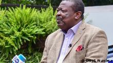 Wycliffe Musalia Mudavadi, Kenyan politician, 23.06.2020 Nairobi, Kenya DW, Shisia Wasilwa