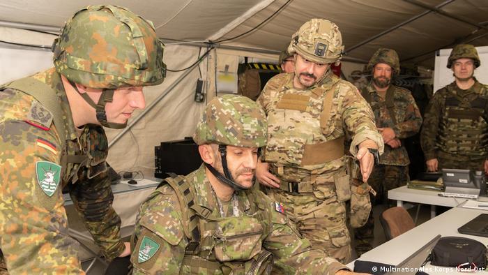 Военнослужащие НАТО в Польше