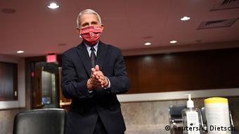 USA Washington | Coronavirus | Anthony Fauci, Wissenschaftler (Reuters/K. Dietsch)