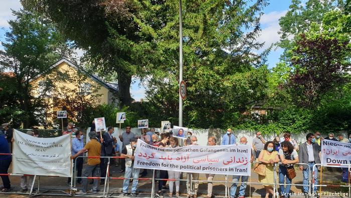 Deutschland Demo gegen Hinrichtungen in Iran