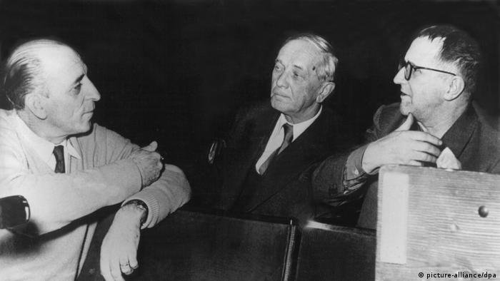 70 Jahre Suhrkamp | Bertolt Brecht im Gespräch mit Peter Suhrkamp und Harry Buckwitz
