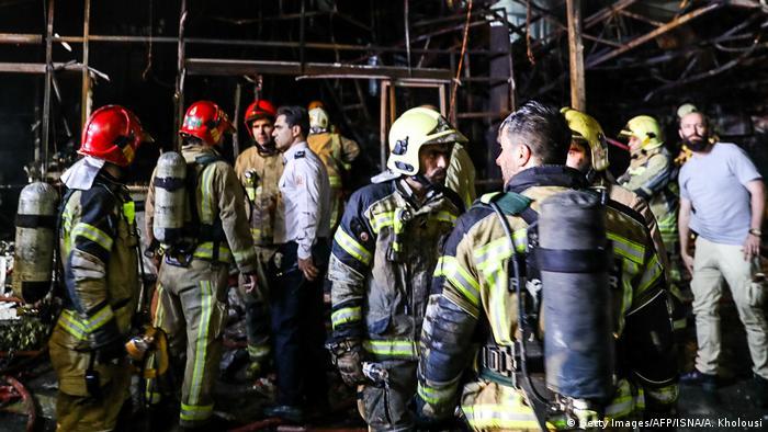 Iran Explosion in Teheran
