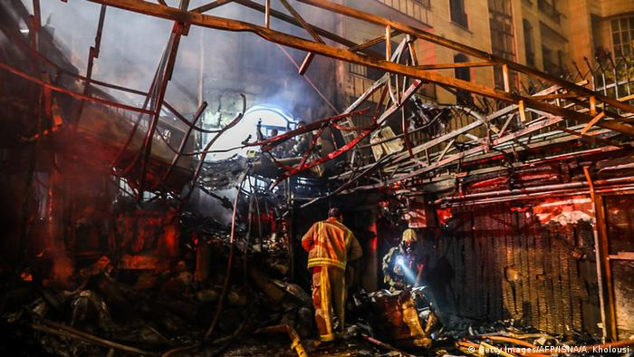 Iran Explosion in Teheran (Getty Images/AFP/ISNA/A. Kholousi)