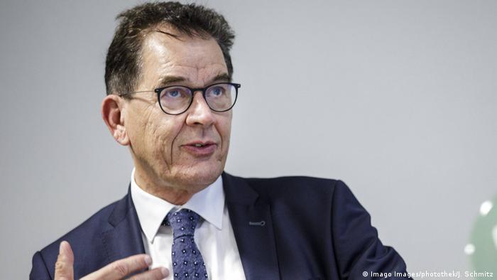 Entwicklungsminister Gerd Müller