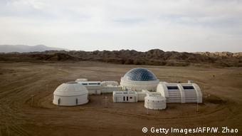 Марсианская база-1 - лагерь в пустыне Гоби для тренировки будущих астронавтов для полета на Марс