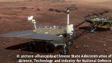 Landefahrzeug für den chinesischen Mars-Rover