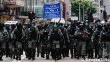 Hongkong | Pro-Democracy Proteste am Tag des 23 Jubiläum der Übergabe an China
