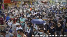 Hongkong | Pro-Democracy Proteste am Tag des 23 Jubiläum der Übergabe an China und des Inkrafttretens des neuen Sicherheitsgesetz
