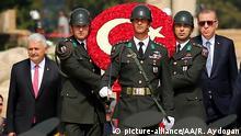 Türkei Ankara Feier zum 96. Tag des Sieges