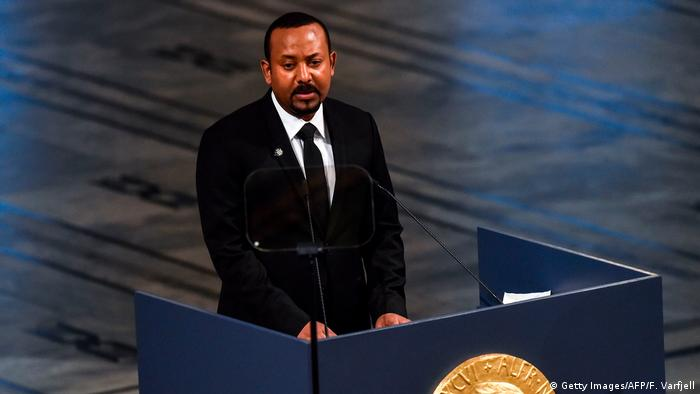 Äthiopien | Nobelpreis | Premierminister Abiy Ahmed Ali (Getty Images/AFP/F. Varfjell)