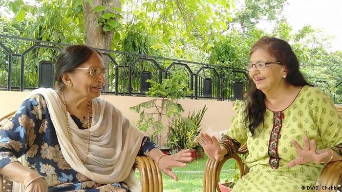 Shashi Luthra and her sister have been living together as India's coronavirus cases increase with each passing day
