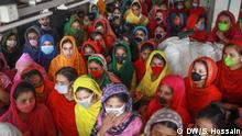 Many garment workers lost their jobs in Bangladesh due to the coronavirus pandemic.