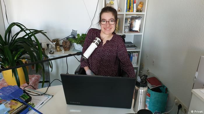 Bloggerin und Aktivistin Laura Mench