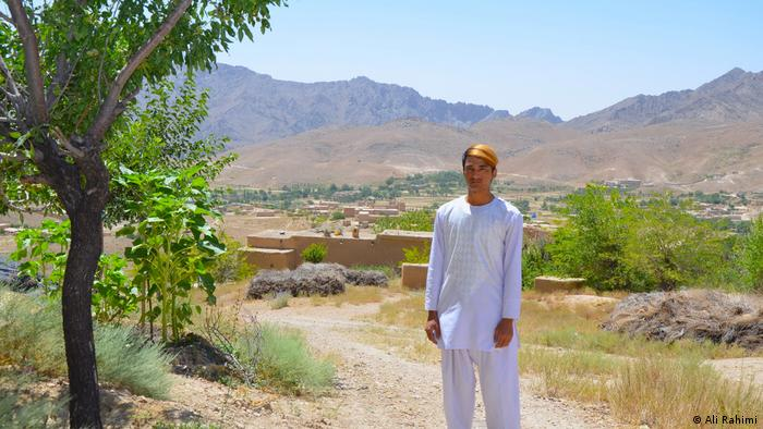 Ali at his home village near Ghazni, south west of Kabul