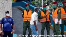 Kuba Havanna Polizei
