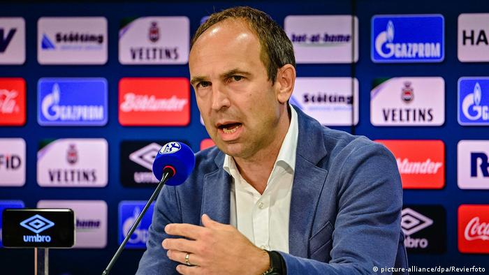 Schalke marketing director Alexander Jobst