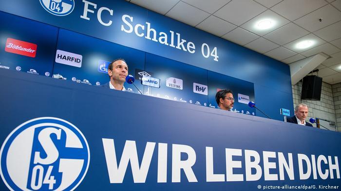 Fußball Bundesliga Pressekonferenz FC Schalke 04