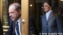 USA New York Harvey Weinstein verlässt Gerichtsgebäude (Getty Images/S. Platt)