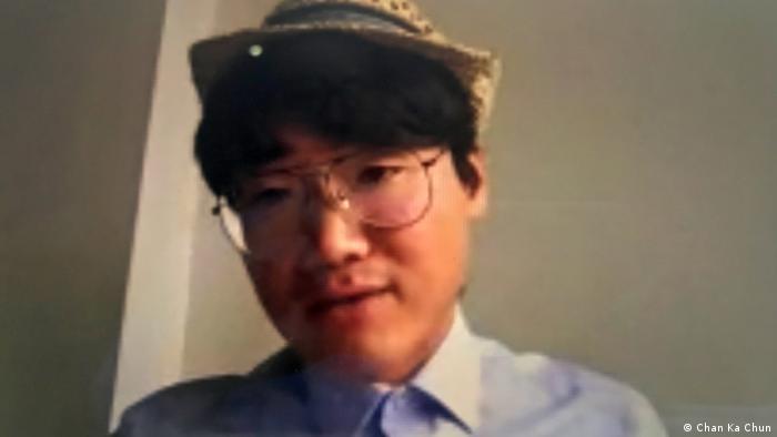 Großbritannien politisches Asyl für ehemaligen Mitarbeiter des britischen Konsulats Simon Cheng (Chan Ka Chun)