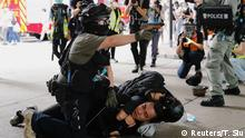 China I Proteste in Hongkong