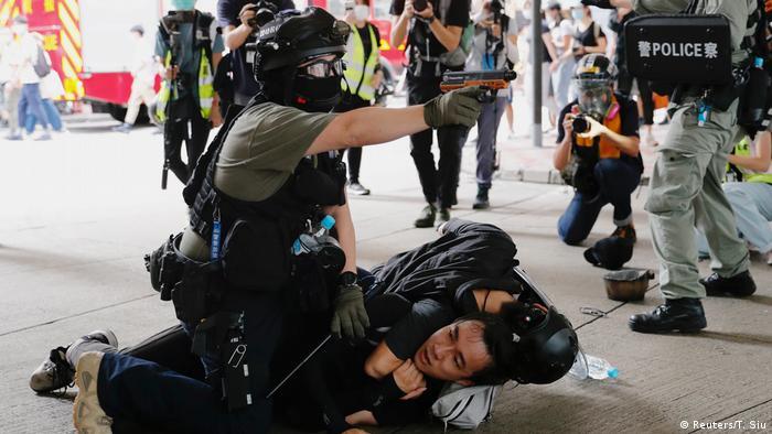 China I Proteste in Hongkong (Reuters/T. Siu)