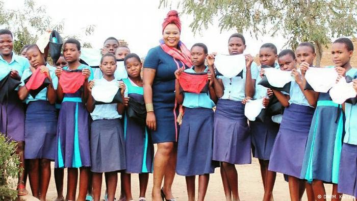 Natasha Tonthola, von Mama Africa Foundation (DW/M. Kaliza)