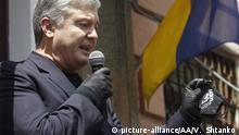 Ukraine I Petro Poroschenko I Verhandlung