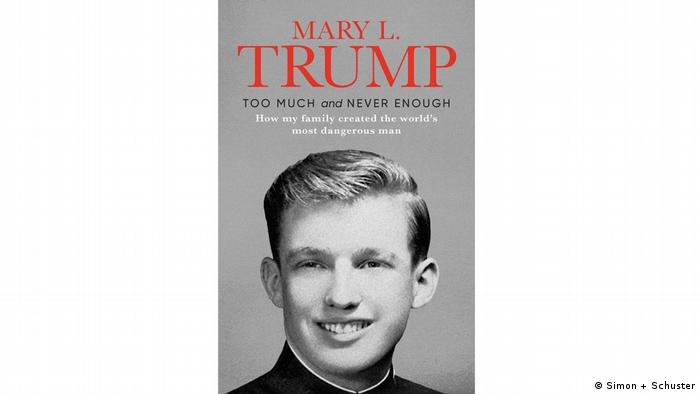 Обложката на книгата на Мери Тръмп
