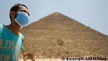 Ägypten Pyramiden von Gizeh |Wiederaufnahme Tourismus | Coronavirus