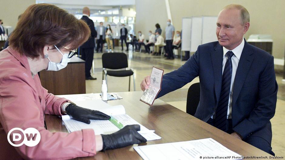 Verfassungsänderung in Russland: Putin auf Lebenszeit
