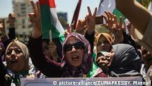 Palästina Wutprotest in Gaza