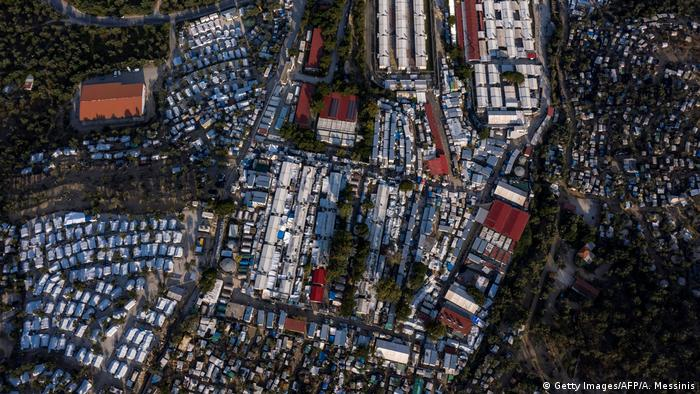 Moria camp on Lesbos