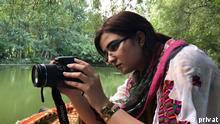 Deutschland   DW   Bloggerin Rabia Bugti