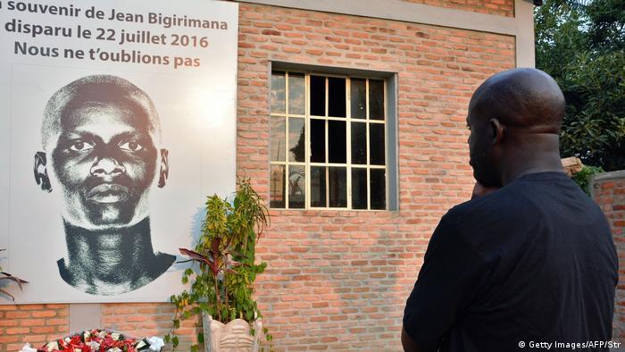 Burundi Erinnerung an Jean Bigirimana