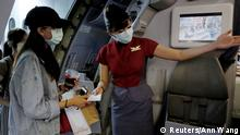 Taiwan Taipeh Airport Fake-Flüge für Touristen mit Reisemangel