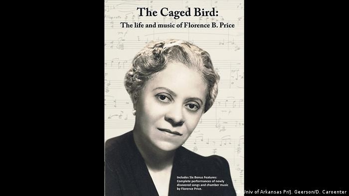 DVD Cover of a documentary about Florence B. Price with her portrait (Univ of Arkansas Pr/J. Geerson/D. Caroenter)