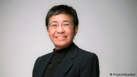 Philippinen Maria Ressa - Filipino Journalist and Autor, CEO Rappler