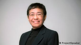 Philippinen Maria Ressa - Filipino Journalist and Autor, CEO Rappler (ProjectSpeaker)