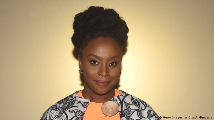 Nigerianische Schriftstellerin Chimamanda Adichie