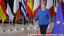 Angela Merkel in Brussels