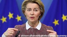 Ursula von der Leyen EU-Kommissionspräsidentin