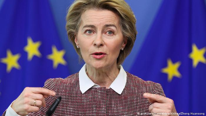 Ursula von der Leyen EU-Kommissionspräsidentin (picture-alliance/dpa/Xinhua/Zheng Huansong)