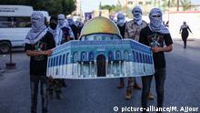 Gazastadt I Palästinensische Anhänger der Fatah-Bewegung