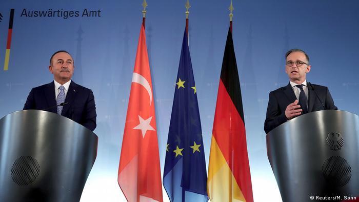 Almanya Dışişleri Bakanı Maas ve Türk mevkidaşı Mevlüt Çavuşoğlu 2 Temmuz'da Berlin'de bir araya gelmişti.