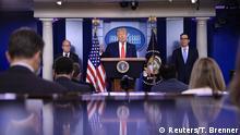 USA Washington Weißes Haus |Donald Trump, Präsident