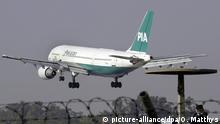 Eine Maschine der Pakistan International Airlines