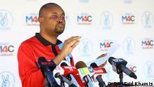 Tansania John Mnyika Generalsekretär Oppositionspartei CHADEMA